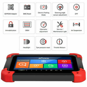 Xtool X 100 Pad Tablet Programmer Obd2 Diagnosis Odometer Correction With Eeprom