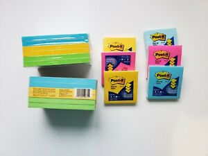 Post it Pop up Notes Set 3 X 5 And 3 X 3 New