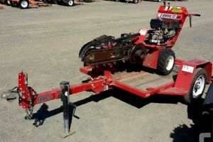 Roll Off Equipment Trailer Only Milwaukee Wi Only Barreto Mini 24 Trencher