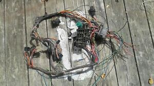 1973 1980 Chevy Truck Parts Wiring Harness Dash Fire Wall Original Vintage