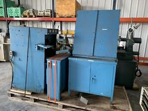 Sunnen Hone Machine With Cabinet Full Of Tooling
