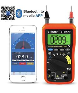 Digital Multimeter True Rms Resistance Frequency Capacitance Hfe Data Moble App