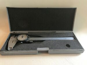 Mitutoyo 505 637 6 Dial Caliper With Case Made In Japan