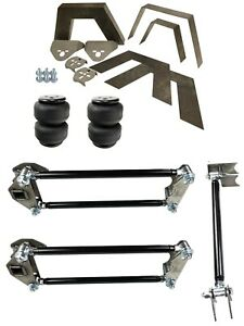 Rear Universal Weld On Kit 8 Frame Notch Parallel 4 Link Air Lift D25 Dominator