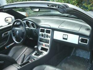 2001 2004 Mercedes Benz Slk R170 Real Brushed Aluminum Dash Trim Kit