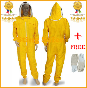 Beekeeping Protective Suit For Beekeeper Cotton Polyester Coverall Bee Suit