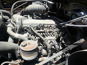 2004 Hino J08e tb Turbo Diesel Engine Runs Exc Video Truck Nissan 260 Hp