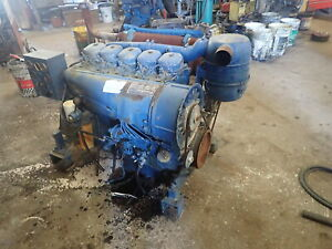 Deutz F5l912 Diesel Engine Power Unit Runs Exc Video Panel 912 Water Pump