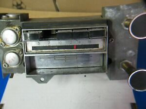 68 69 1968 1969 Lincoln Mustang Am 8 track Radio Mustang For Parts Only T9ml