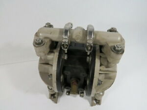 Aro 666053 388 Double Diaphragm Pump 1 2 In out 13gpm 100psi 6 9bar Used