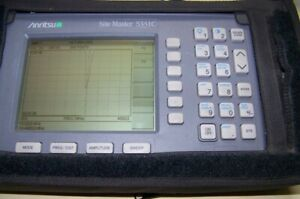 Nice Anritsu S331c Site Master With Battery New Charger 4ghz Full Test