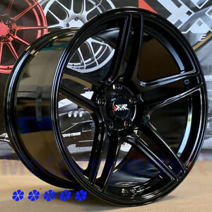 Xxr 572 Wheels 18 X9 5 10 5 25 Black Staggered 5x4 5 99 03 Ford Mustang Cobra