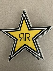 70 Authentic Rockstar Energy Drink Stickers Decal Sign Logo Bmx Motocross