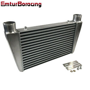 Universal 2 5 I o V Mount Front Intercooler Overszie 23 x13 x3 2 1 2