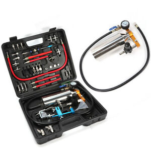 Non Dismantle Injector Cleaner Fuel System For Petrol Vehicle Adapter Kits Us