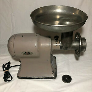 Hobart Table Top Meat Grinder 4612 Tested 115v 1 Phase