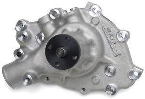 Edelbrock 8841 Victor High Flow Water Pump 1965 69 289 302 W Right Hand Inlet