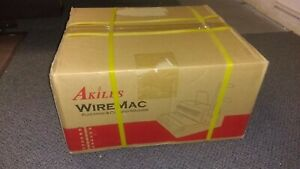 Akiles Wiremac 31 Wire Binding Machine And Punch 3 1 Pitch 14 New In Sealed Box