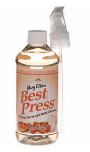 Mary Ellen #x27;s Best Press Spray Starch Peaches Cream 16.9 fl oz Quilting spray $9.95