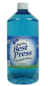 Mary Ellen #x27;s Best Press Spray Starch Linen 33.8 fl oz Refill Quilting spray $16.95