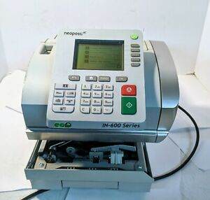 Neopost In 600 Series Tabletop Mail Postage Mailing Machine