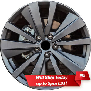 New 19 Charcoal Grey Alloy Wheel Rim For 2019 2020 Nissan Altima Edition One