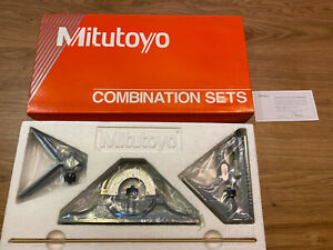 new Mexico Made Mitutoyo 12 Inch Combination Square Set welding Sealed