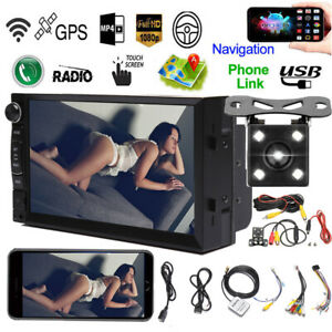 For 2007 15 Jeep Wrangler Compass Patriot Android Car Bluetooth Stereo Wifi Gps