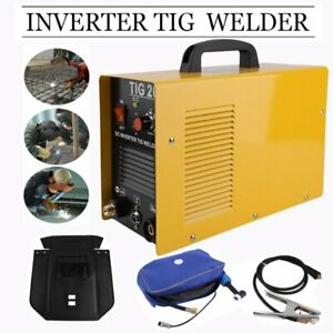 Portable Tig 200 Welder Welding Machine 200amp 220v Dc Inverter