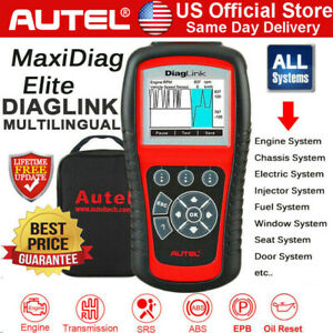 Autel Diaglink Eobd Auto Diagnostic All System Scanner Tool Car Oil Epb Reset Us