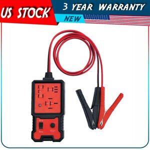 12v Electronic Automotive Relay Tester For Cars Vehicle Battery Checker Tool
