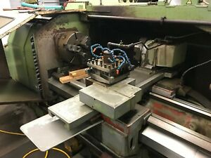 Okuma Lh 35n Cnc Lathe With 15 Manual Chuck