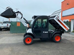 2017 Bobcat 5600 Tool Cat All Wheel Steere 4x4 Rear Back Up Camera Ac heat