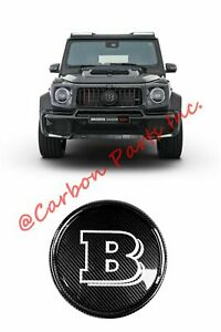 W464 W463a Carbon Grille Badge Emblem Brabus Style Mercedes G class 2019up