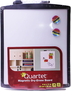 Quartet Magnetic Whiteboard 9 X 11 Small White Board For Wall Dry Erase Boar