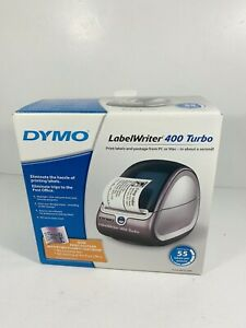 Dymo Label Writer 400 Turbo Prints W pc Or Mac Pre owned W Box For Parts Only