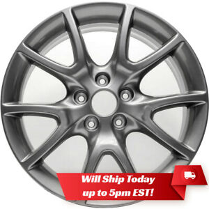 New 17 Alloy Wheel Rim For 2013 2016 Dodge Dart Smoked Hyper Silver Version