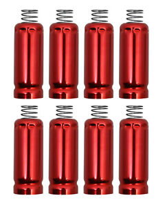 Spark Plug Wire Boot Heat Shield Protectors Set Of 8 For Ls Lt Engines Red