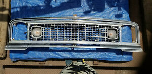 1974 1975 1976 1977 1978 Jeep Wagoneer Front Grille Panel Used Ad 8915