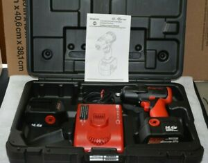 Snap On Ct4410a Cordless Impact Wrench 2 Batteries 1 Charger Case