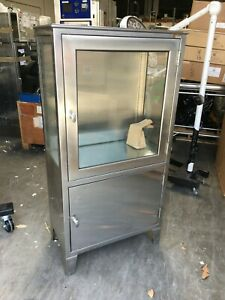 Stainless Steel Medical Cabinet 5 X 30 X 16 5