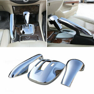 Middle Console Gear Shift Trim Abs Chrome For Honda Accord Crosstour 2008 2013