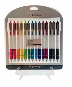 Tul Gel Pens Bright Bold Colors Limited Edition White Glossy Barrel 0 7 Med