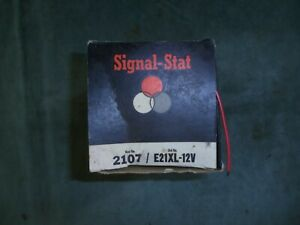 Signal Stat Vintage Nos Back Up Light turn Signal tail Light E21xl combo