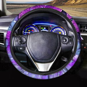Fashion Car Steering Wheel Cover Bling Cloth Butterfly Auto Decorative Interior