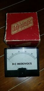 Hickok D c Microvolts 660015 095 Excellent Condition
