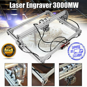 3000mw 65x50cm Laser Engraving Machine Kit Cutting Engraver Desktop Printer
