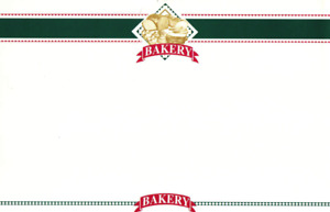 Bakery Display Sale Price Signs 50pcs 5 5 h X 7 W grocery Bakery c Store