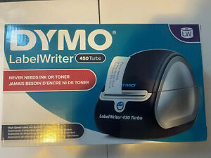 Dymo Labelwriter 450 Turbo Label Thermal Printer Black 1750283