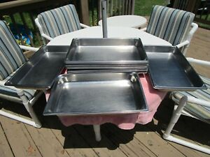 Lot Of 12 Stainless Steel 12 3 4 X 10 1 2 X 2 5 Steam Table Food Insert Pans